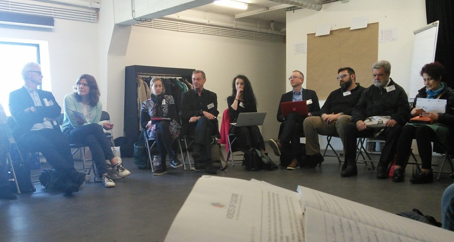 Structured dialogue with the European Commission on social inclusion and thearts